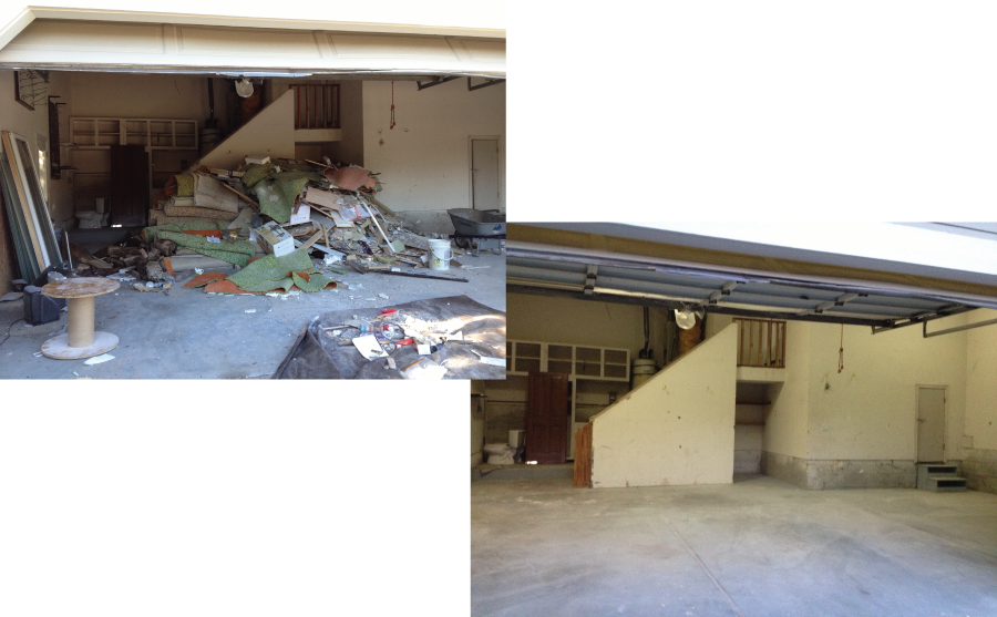 Demo clean up junk removal