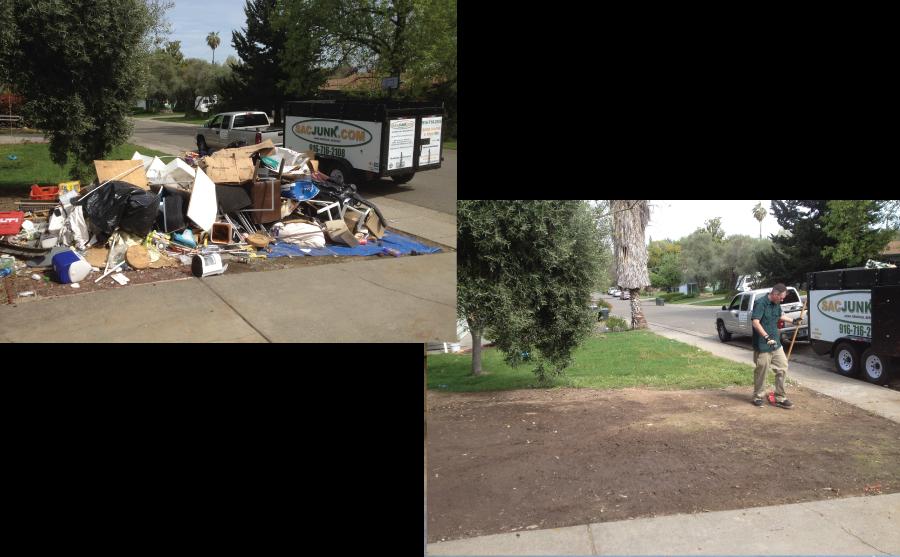Junk Pile clean up
